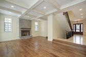 Chambre familiale dans la maison de nouvelle construction — Photo