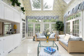 Family room sun room — Stock Photo