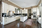 Kitchen in traditional home — Stock Photo