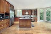 Comtemporary kitchen — Stock Photo