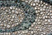 Vzorek z kamenů — Stock fotografie