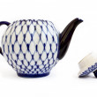 Stock Photo: Teapot & lid