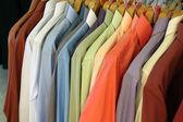 Colour shirts — Stock Photo