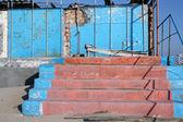 放棄された階段 — ストック写真