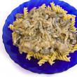 Royalty-Free Stock Photo: Pasta with mushrooms