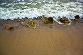 Rocks on the shore — Stock Photo