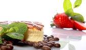 Mint cake — Stock Photo