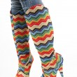 Multicolored Boots — Stock Photo