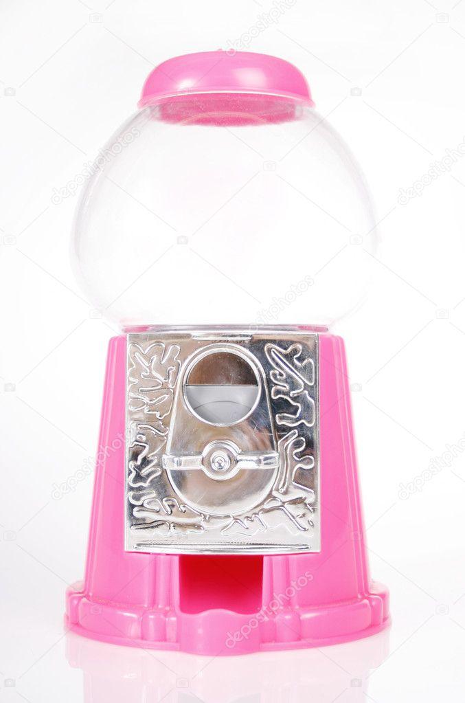 empty bubble gum machine