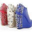 Stock Photo: Spiked heels