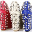 Stock Photo: Spiked wedges shoes