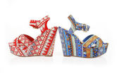 Pattern shoes — Stock Photo