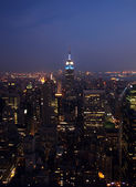 New York Skyline — Foto Stock