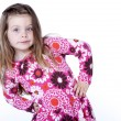 Stock Photo: Young girl with hands on hips