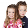 Siblings portrait — Stock Photo #8650415