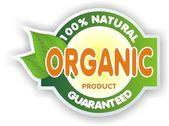 Organic sign — Stock Photo