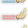 Satisfaction — Vector de stock #9657530
