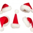 Set of Christmas Santa hats — Stock Photo #8718851