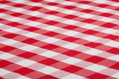 Toalha de tecido marcado vermelho — Foto Stock