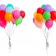 Set of colorful balloons isolated on white — Stock Photo #9328650