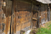 The abandoned shed — Stock Photo