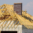 Roof construction — Stock Photo #10165164