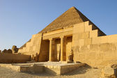 Entrance to Mastaba — Stock Photo