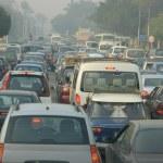 Traffic Jam In Cairo — Stock Photo #8608851
