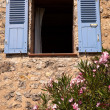 Provence shutter window — Stock Photo