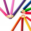 Royalty-Free Stock Photo: Pencils or crayons