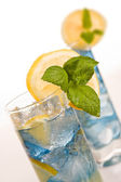 Cocktail blues — Stock Photo