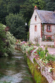 Normandy cottage — Stock Photo