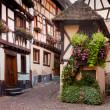 Wine village of Eguisheim — Stock Photo