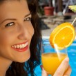 Cocktail at the Poolside — Stock Photo