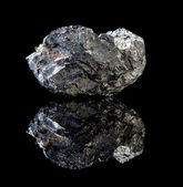Black coal rock — Stock Photo
