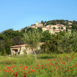 Provence hilltop village — Stock Photo