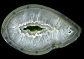 Large agate geode — Stock Photo