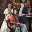 Victorian family portrait — Stock Photo