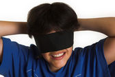Blindfolded — Stock Photo