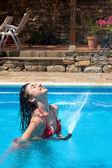 Ducha de verano — Foto de Stock