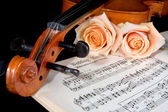 Bridal strings — Stock Photo