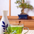 Royalty-Free Stock Photo: Sake and tea