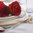 Your rose and mine - Stock Photo