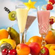 Fruit smoothies — Stock Photo #8724104
