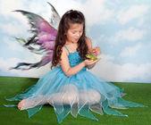 Grodprinsen och fairy — Stockfoto