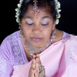 Hindu prayer — Stock Photo