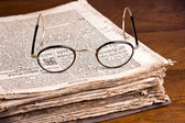 Old Germanic book — Stock Photo