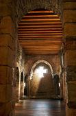 Luz en la capilla — Foto de Stock