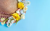 Easter hat — Stock Photo