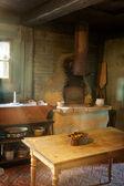 19e eeuw keuken — Stockfoto